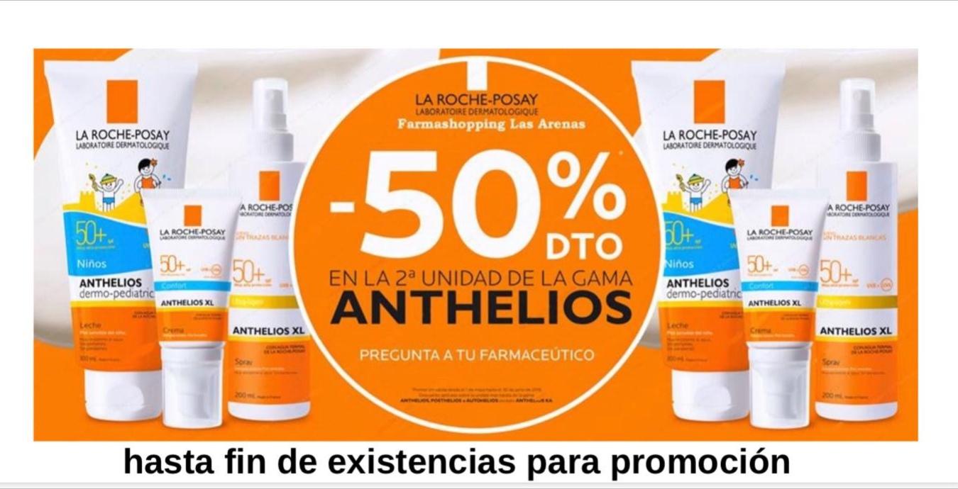 Promo solares Anthelios La Roche Posay