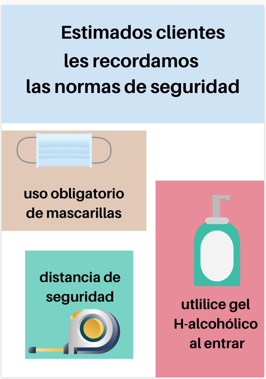 Medidas de protección
