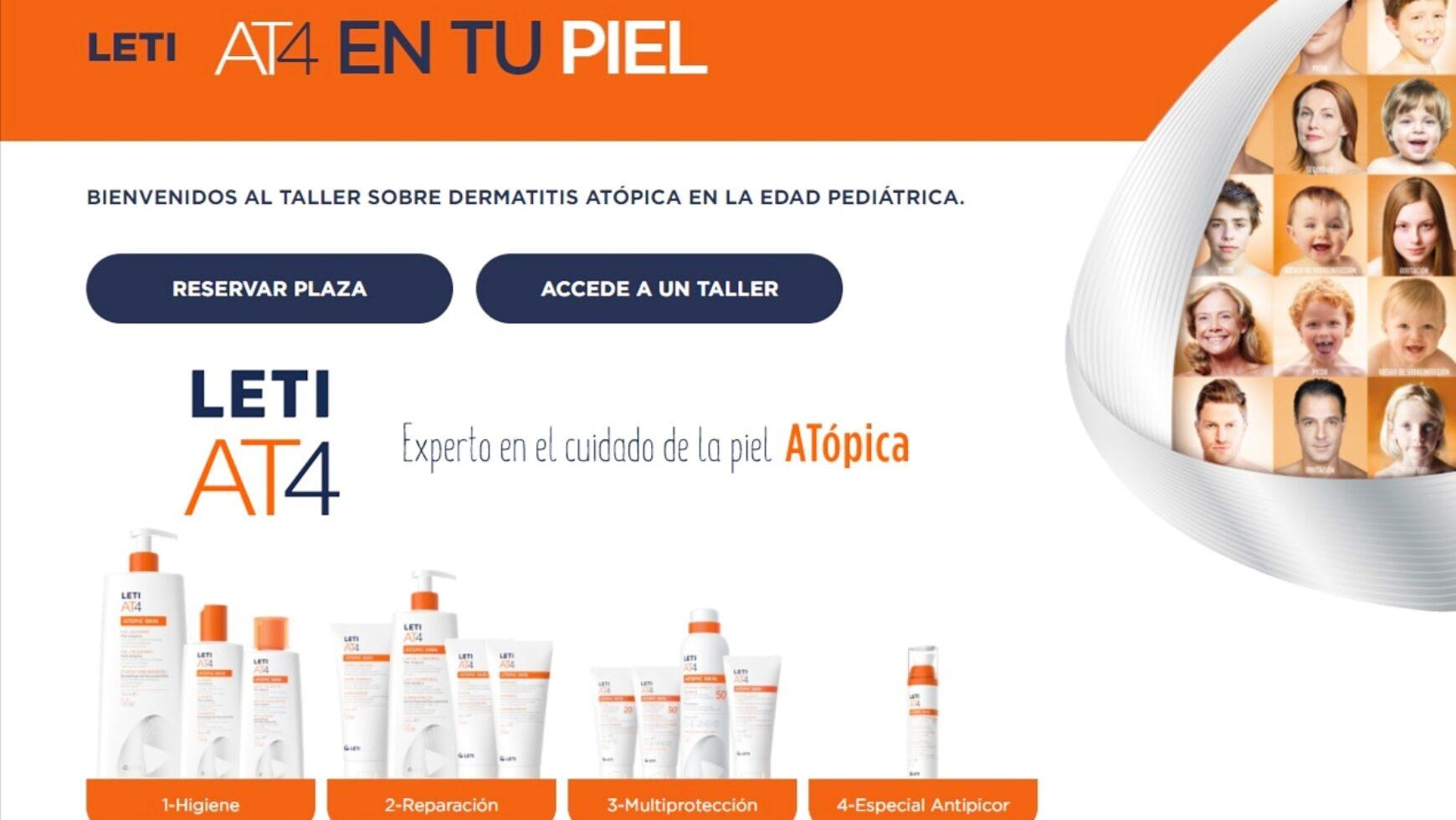 Taller online dermatitis atópica!!!